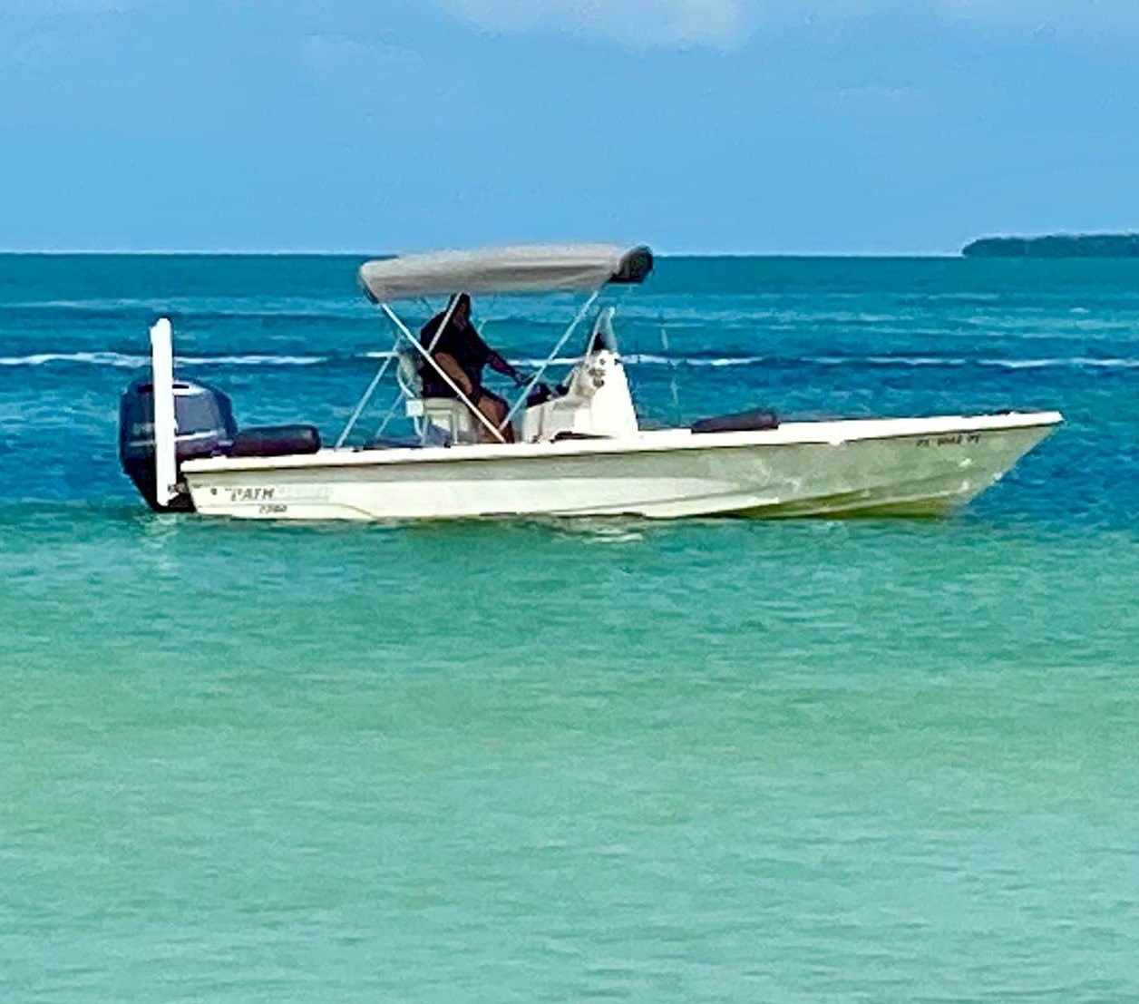 Unmarked MCSO Boat